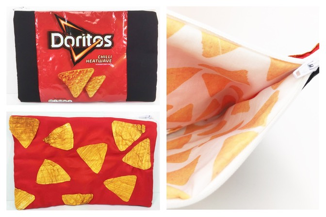 Doritos pencil case