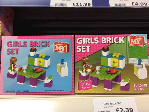 Girls brick set 1245