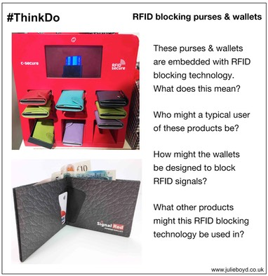 L RFID blocking wallets