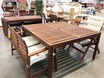 L Teak garden furniture chair table IMG 0010