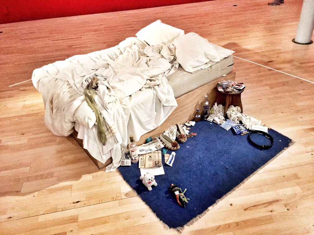 L Tracey Emin The Bed IMG 4297